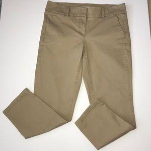 LOFT cropped chino pants